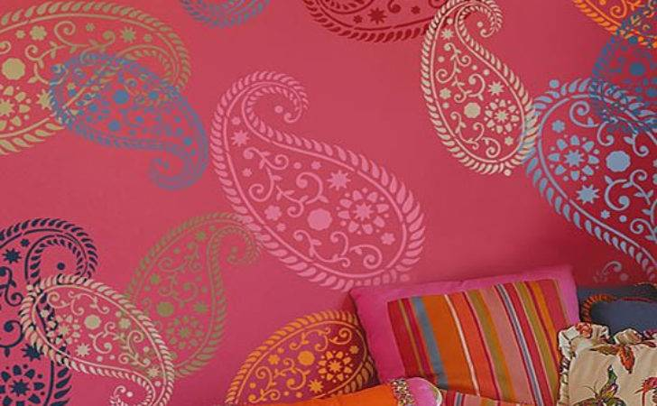 Wall Paint Stencils Painting