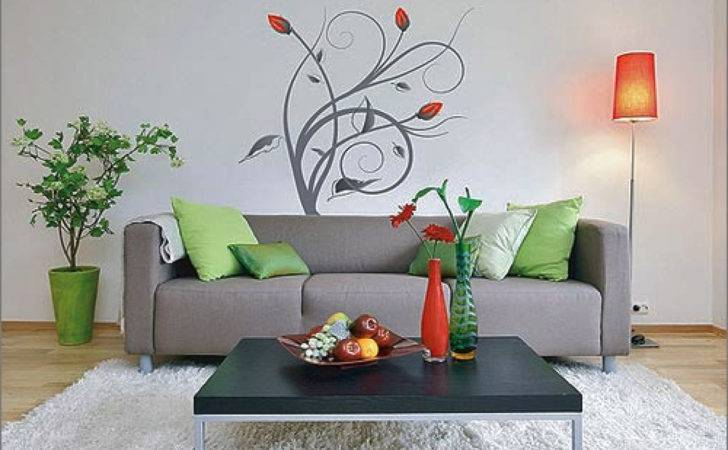 Wall Painting Designs Living Room Home Combo