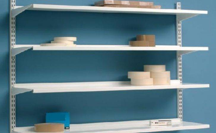 Wall Shelves Mounted Adjustable Shelving System