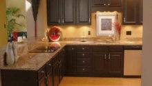 Wall Small Kitchen Cabinet Painting Ideas Colors Glass