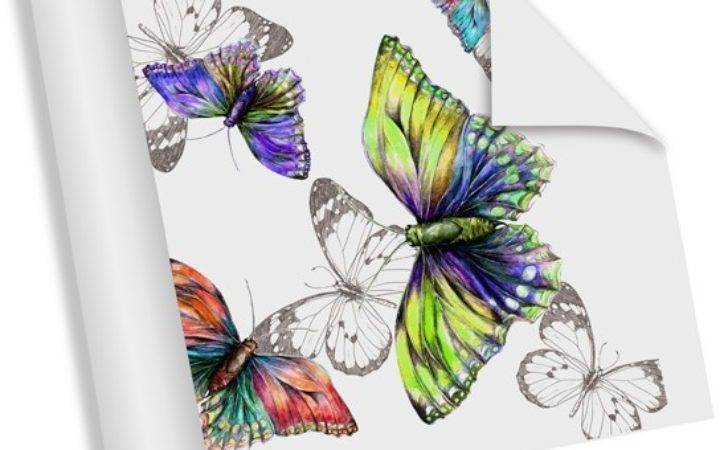 Watercolour Butterflies Digetexhome