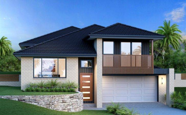 Waterford Split Level Home Designs New South