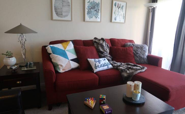 Ways Work Around Red Sofa Styling Your Living