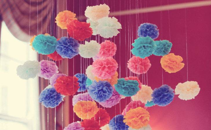 Wedding Decor Ideas Poms
