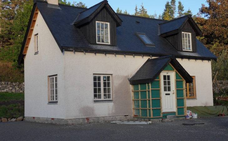 Weehighlandhouse Building Traditional Cottage