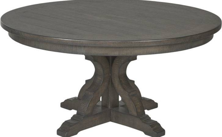 Westbrook Gray Round Dining Table Tables Colors