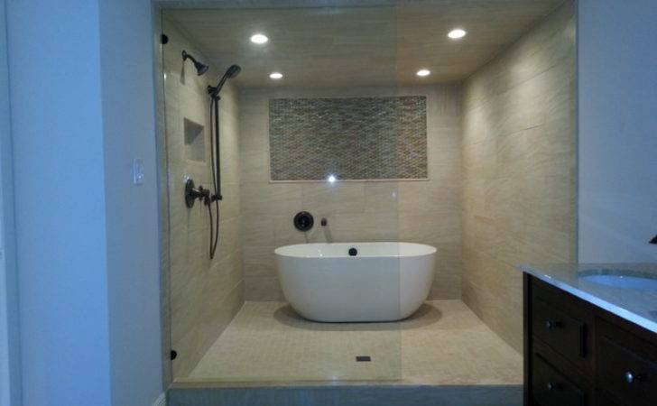 Wet Room Contemporary Bathroom Tampa Dan