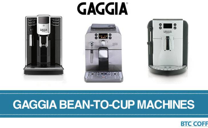 Which Best Gaggia Bean Cup Coffee Machines
