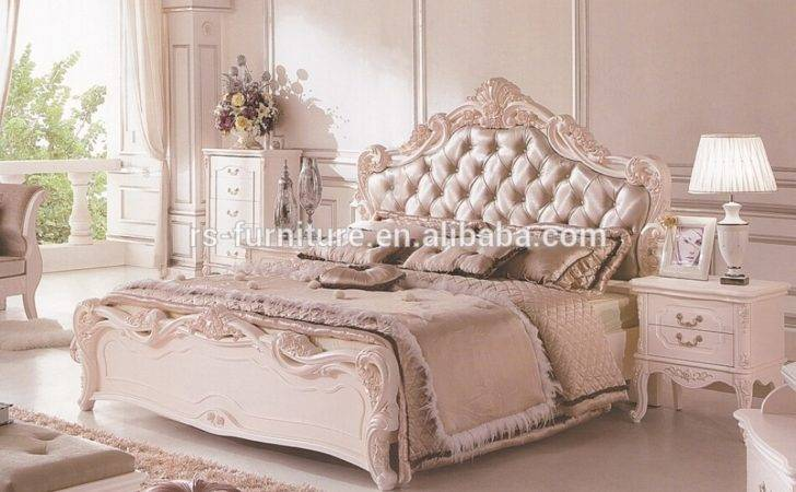 White Classic Bedroom Furniture Collections