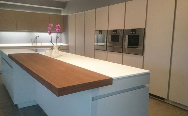 White Corian Kitchen Worktop Installation Leamington Spa