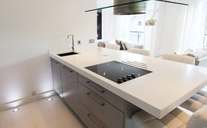 White Corian Worktop London