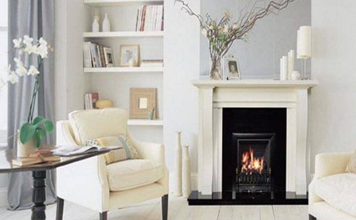 White Fireplace Living Room Designs Your Dream Home