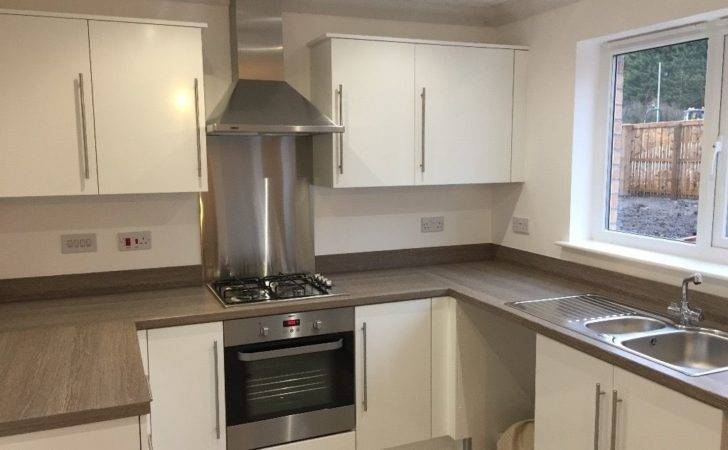 White Gloss Kitchen Doors Complete Drawer Unit