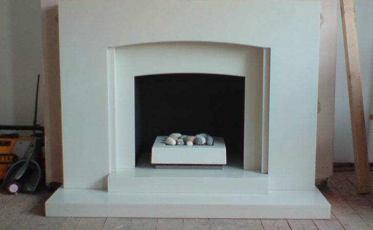 White Marble Focal Point Gas Fire Fireplace