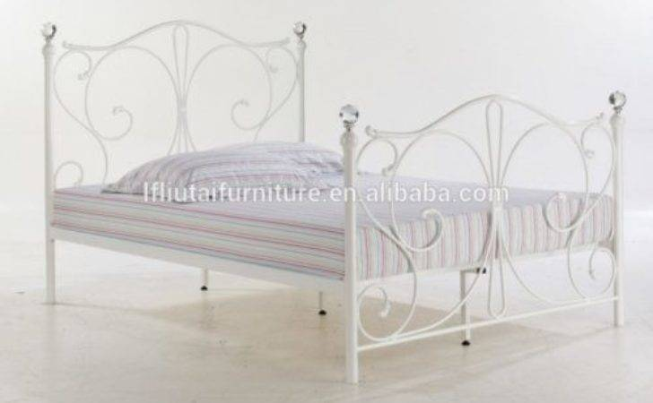 White Metal Double Bed Frame Argos Downloadable Plans