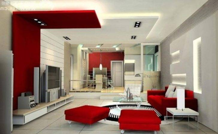 White Modern Living Room Best Ideas