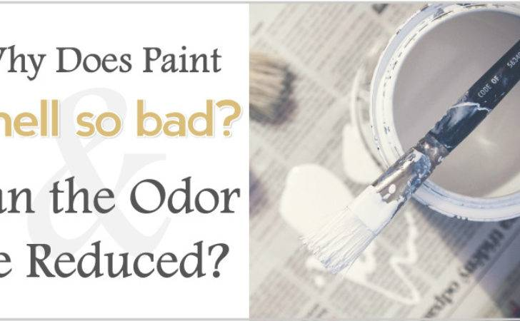 Why Does Paint Smell Bad Can Odor Reduced