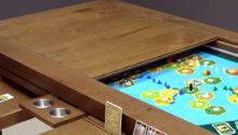 Why Want Fancy Board Game Table