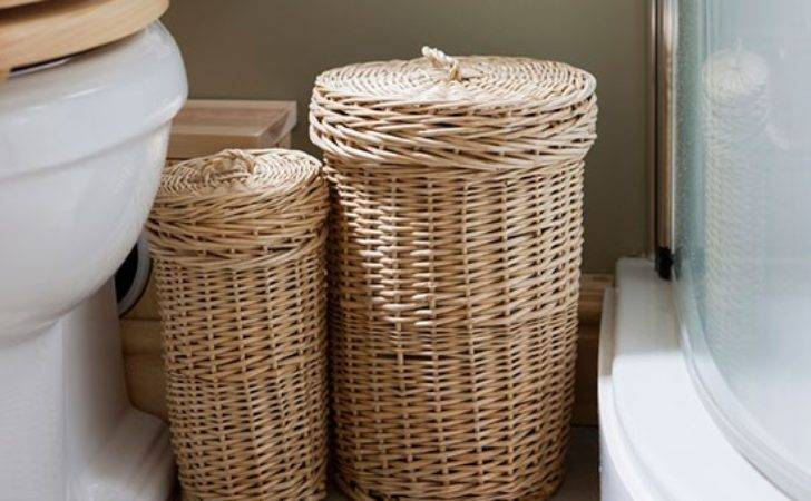 Wicker Laundry Baskets Inspired Rustic