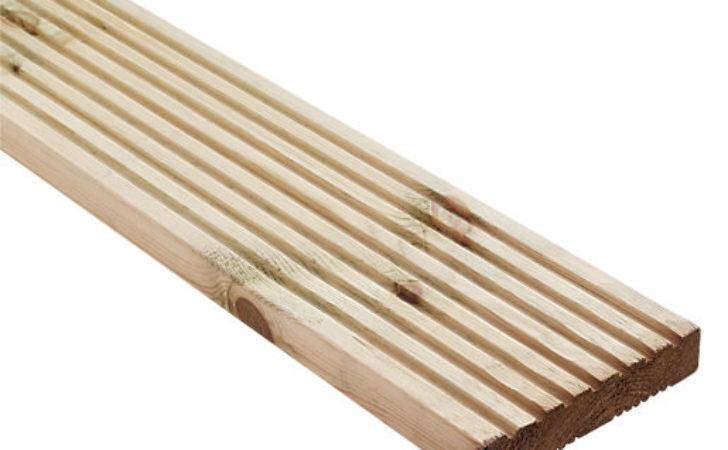 Wickes Premium Reversible Pine Deck Board