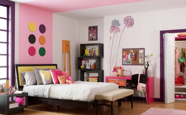 Wild Wacky Colorful Teen Bedroom Ideas Home Conceptor