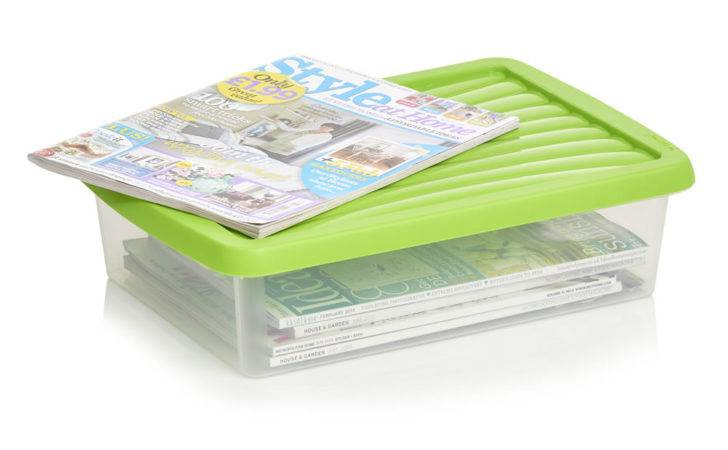 Wilko Storage Box Lid Assorted