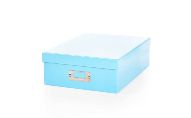 Wilko Storage Box Lid Blue Deal Offer