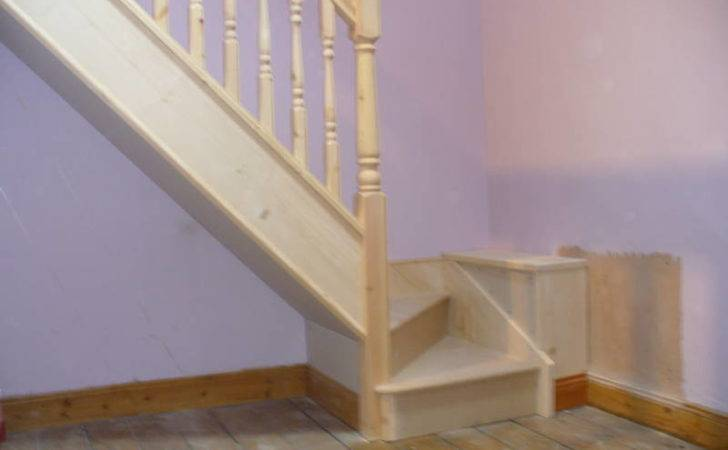 Winder Staircase Pine Made Measure Delivery