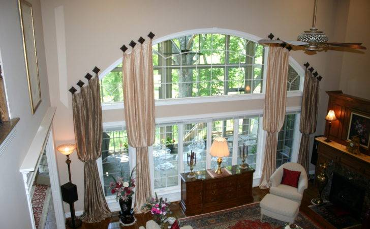 Window Treatments Large Windows Decofurnish