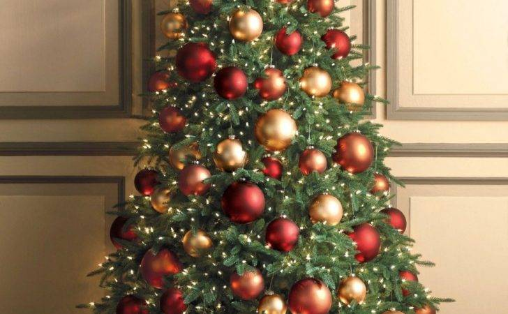Wonderful Christmas Tree Decorations Ideas Red Gold