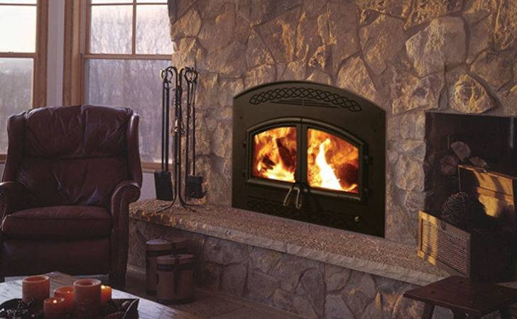 Wood Burning Fireplace Gas Modern