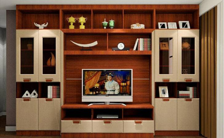 Wood Cupboard Designs Living Room Home Combo