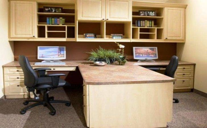 Wood Dual Desk Home Office New Furniture
