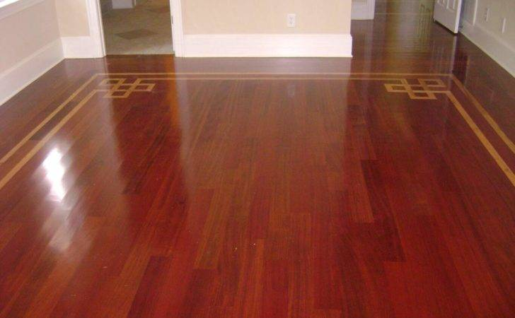 Wood Floor Inlay Long Island Refinish Restore Hardwoods