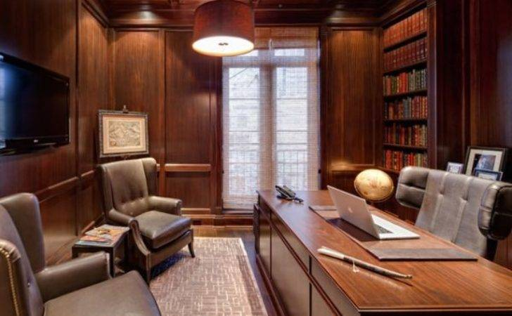 Wood Paneling Adds Elegance Warmth Your Home Office