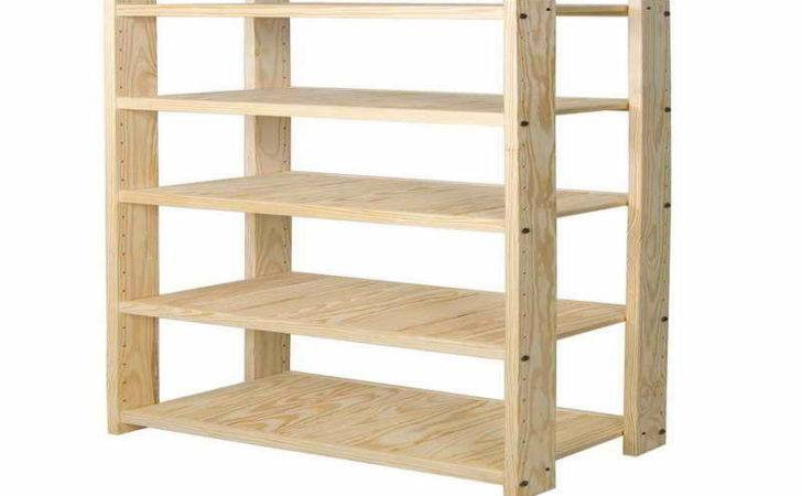 Wood Storage Units Metal Rack