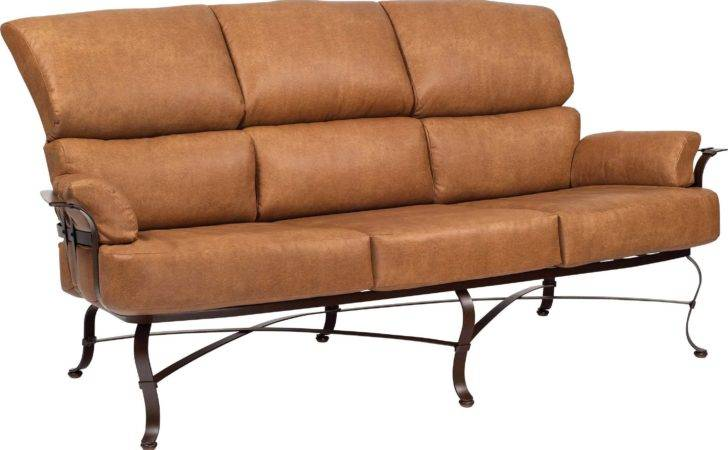 Woodard Atlas Wrought Iron Sofa