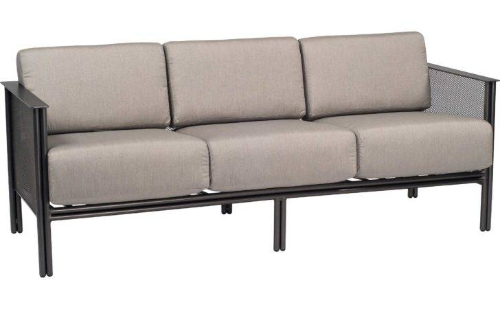 Woodard Jax Wrought Iron Sofa