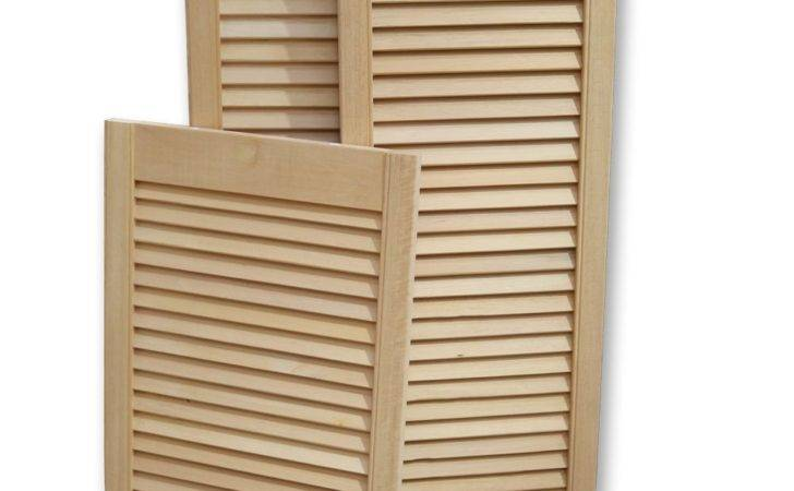 Wooddoor Ramin Hardwood Open Slatted Louvre Door Ebay