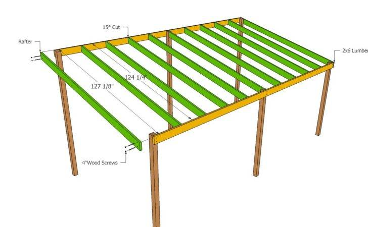 Wooden Carport Plans Howtospecialist Build
