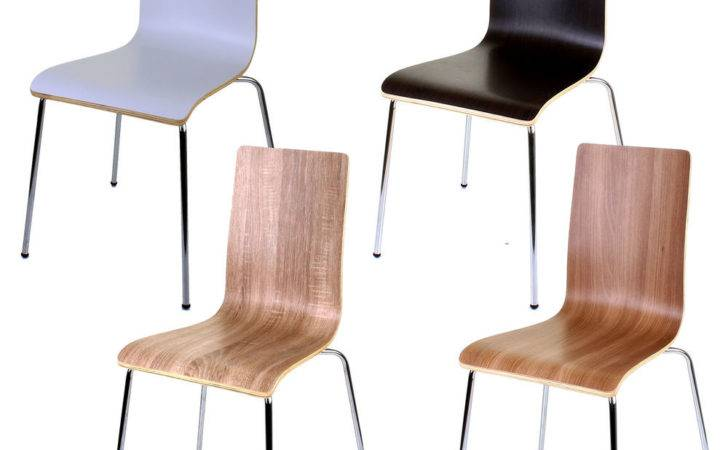 Wooden Dining Chairs Stacking Chair Home Office