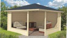 Wooden Garden Gazebo Ideas