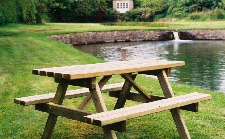 Wooden Picnic Tables Duncombe Sawmill Local