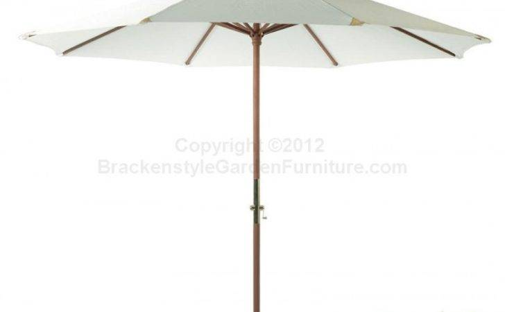 Wooden Pulley Parasol