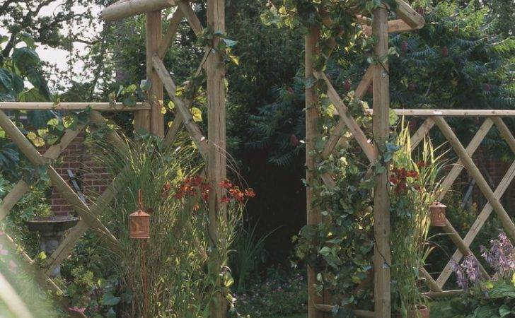 Wooden Rose Arch