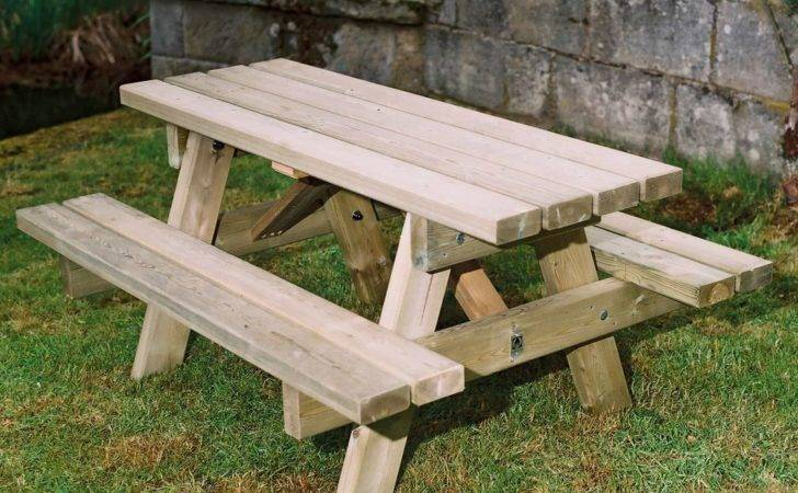 Wooden Small Picnic Table Duncombe Sawmill