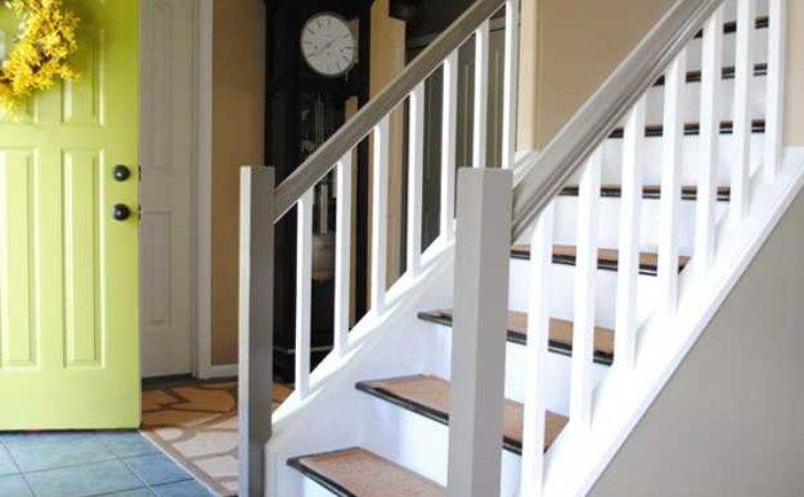 Wooden Stairs Making Colorful Centerpieces Interior