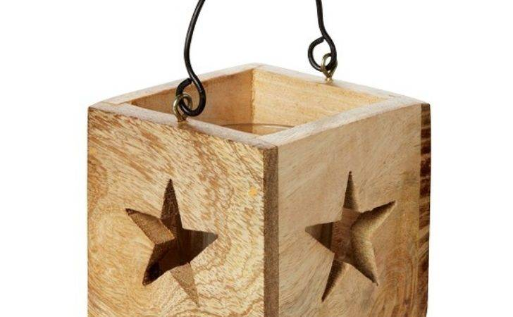Wooden Star Tealight Holder John Lewis Country