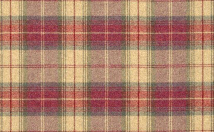 Woodford Plaid Fabric Lavender Moss Dhigwp