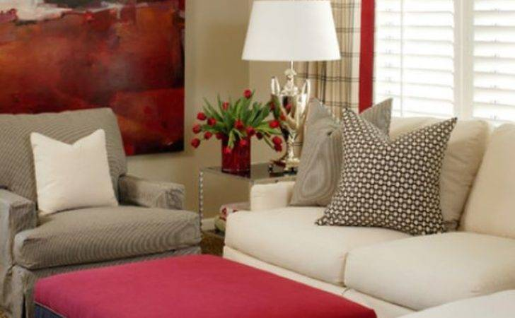 Work Red Create Vibrant Elegant Decors